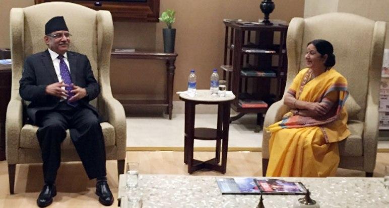 shusma-swaraj-and-prachand